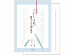 ミドリ/きれいな手紙が書ける便箋(細罫)30枚/20435-006