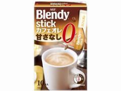 AGF/ブレンディスティック カフェオレ 甘さなし 10本