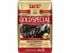 UCC/炒り豆 ゴールドスペシャル リッチブレンド 360g