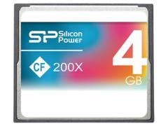 シリコンパワー/コンパクトフラッシュカード 4GB/SP004GBCFC200V10