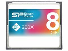 シリコンパワー/コンパクトフラッシュカード 8GB/SP008GBCFC200V10