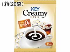 キーコーヒー/クリーミーポーション 18個入×20袋