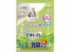 ユニチャーム/抗菌デオトイレ飛び散らない緑茶成分入消臭サンド 2L