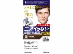 ダリヤ/サロン ド プロ 無香料ヘアカラー メンズスピーディ 白髪用 5