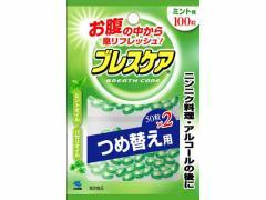 小林製薬/ブレスケア ミント 100粒つめ替え用