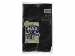 ジャパックス/業務用MAX 黒 45L 10枚入/S-52