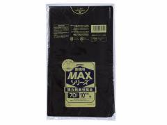 ジャパックス/業務用MAX 黒 70L 10枚入/S-72