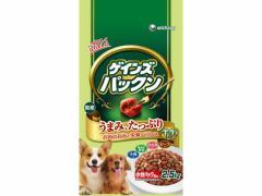 ユニチャーム/ゲインズパックンビーフ・ささみ・緑黄色野菜・小魚2.5kg
