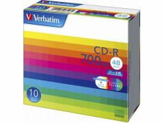 三菱ケミカルメディア/データ用CD-R 700MB 48倍速 10枚