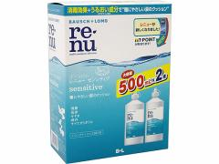 ボシュロムジャパン/レニューセンシティブ500mL×2P