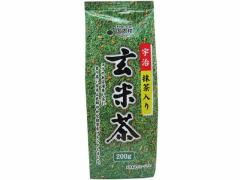 国太楼/宇治抹茶入り 玄米茶 200g