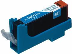エコリカ/キャノン用リサイクルインクカートリッジBCI-321C