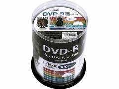 ハイディスク/DVD-R 4.7GB 16倍速 100枚 スピンドル