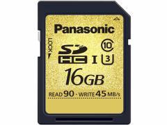 パナソニック/SDHC UHS-I メモリーカード 16GB/RP-SDUC16GJK