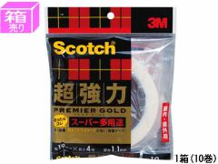 3M/スコッチ 超強力両面テープスーパー多用途 19mm×4m 10巻