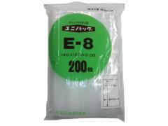 セイニチ/ユニパック厚口 E-8 100*140*0.08mm 200枚/#6651515