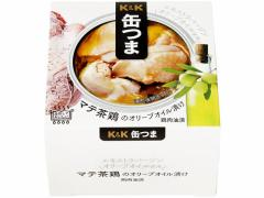 国分/KK 缶つま マテ茶鶏のオリーブオイル漬け