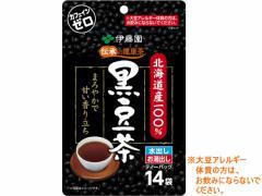 伊藤園/北海道産100%黒豆茶 ティーバッグ 14袋