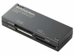 エレコム/46+2メディア SDXC対応メモリーカードリーダ ブラック/MR-C23BK