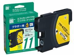 エコリカ/ブラザー用リサイクルインクカートリッジLC11Y