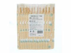 大和物産/水玉元禄箸(パック入100膳)