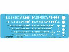 ステッドラー/数字定規 0.5mmシャープペンシル用/98215-1