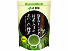 伊藤園/簡単お茶じょうず 抹茶入りのおいしい緑茶 1kg