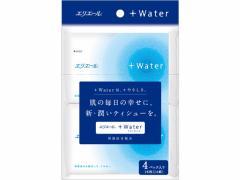 大王製紙/エリエール +Water ポケットティシュー 14組4個