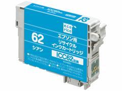 エコリカ/エプソン用リサイクルインクカートリッジICC62