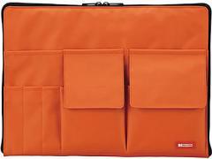 リヒトラブ/バッグインバッグ A4 橙/A-7554-4