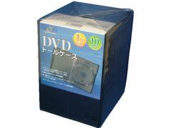 ナガセテクノサービス/DVDケース M-Lock ブラック 10枚/FD1001TLB10