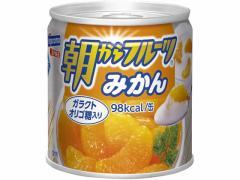 はごろもフーズ/朝からフルーツ みかん 190g