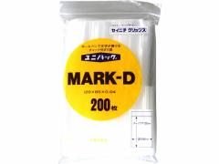 セイニチ/マーク付ユニパックMARK-D120*85*0.04mm 200枚/#6652300