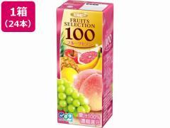 エルビー/フルーツセレクション フルーツセブン100% 200ml 24本