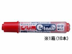 サクラ/ホワイトボードマーカー イータンク 中字 赤 10本/WBK-CM#19