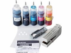 エレコム/キヤノン371+370用 詰替インクセット 5回分/THC-371370SET5