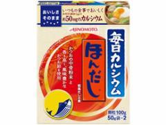 味の素/毎日カルシウム ほんだし 100g箱
