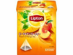 リプトン ピーチ&マンゴーティー ティーバッグ 12袋