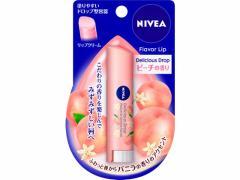 KAO/ニベア フレーバーリップ デリシャスドロップ ピーチの香り 3.5g