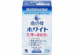 【第2類医薬品】薬)小林製薬/命の母ホワイト 180錠