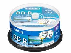 マクセル/録画用BD-R 1回録画25GB 1~4倍速 30枚 スピンドル