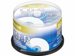 マクセル/データ用CD-R 700MB 1〜48倍速 50枚スピンドルケース
