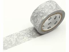 カモ井/mt ウィリアムモリス Pure Bachelors Button Stone/Linen
