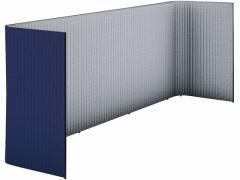 コクヨ/インフレーム ユーティリティブースLL W3900 フレーム黒 ディープパープル