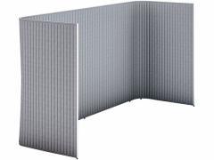 コクヨ/インフレーム ユーティリティブースM W2800 フレーム白 ホワイトグレー
