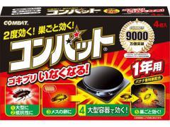 大日本除虫菊/コンバット 1年用 4個入