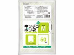 オルディ/プラスプラス キッチンポリ袋 半透明 M 50枚/PKN-M-50
