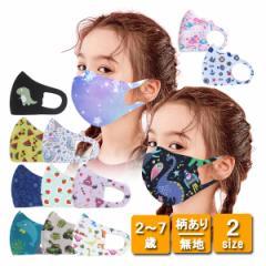 送料無料 1000円 キッズマスク 5枚セット 立体マスク 3D プリント 口につかないマスク 洗える 柄あり 無地 花粉対策 インフルエンザ対策
