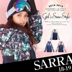 スノーボード スノボ ウェア スキー レディース バイカラー ジャケット 新作 18-19 SARRA (サラ)  74703