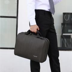 就職祝ならこれ。高級ビジネス用PCバッグ TIGERNU T-L5150 A4サイズまでのノートPCをスタイリッシュに持ち歩ける。